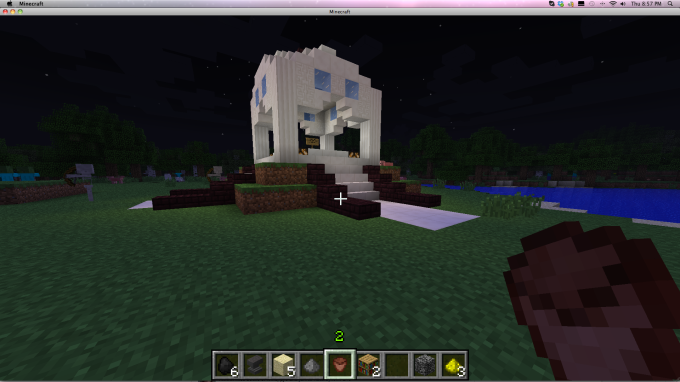 A welcome area being created for Westbury Primary School - they're about to join our server :)